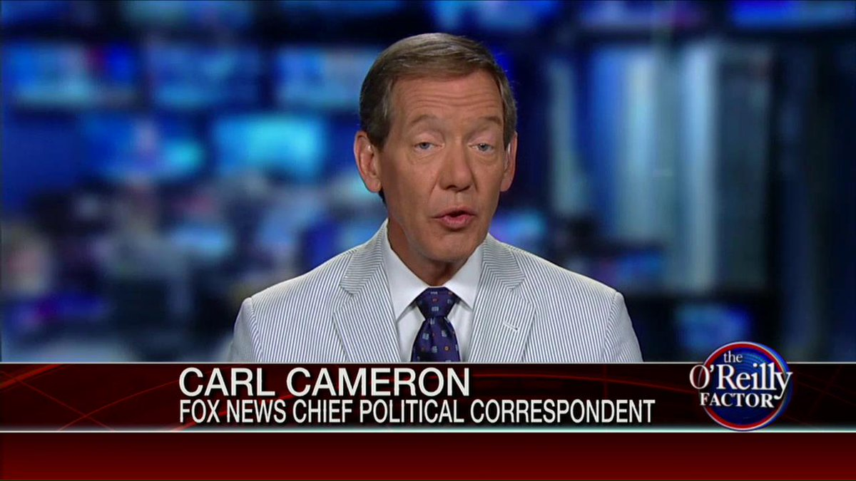 Carl cameron: candidates who are really hot run the risk ...