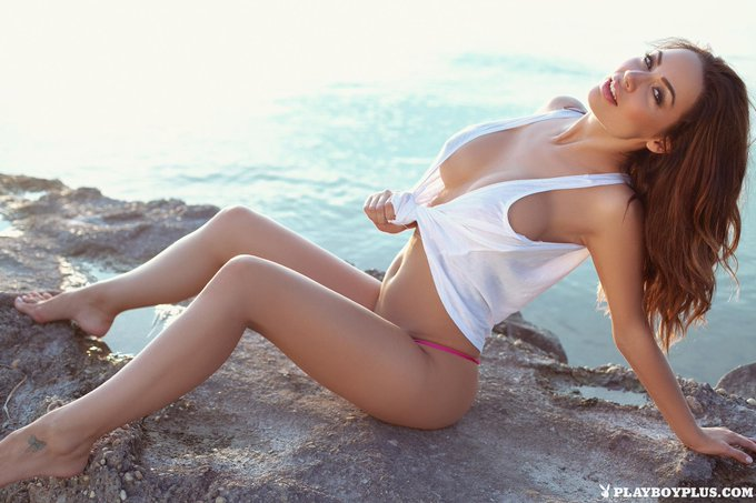 RT @PlayboyPlus: Watch a beautiful sunset with an even more beautiful woman, @AdriennLevai. http://t