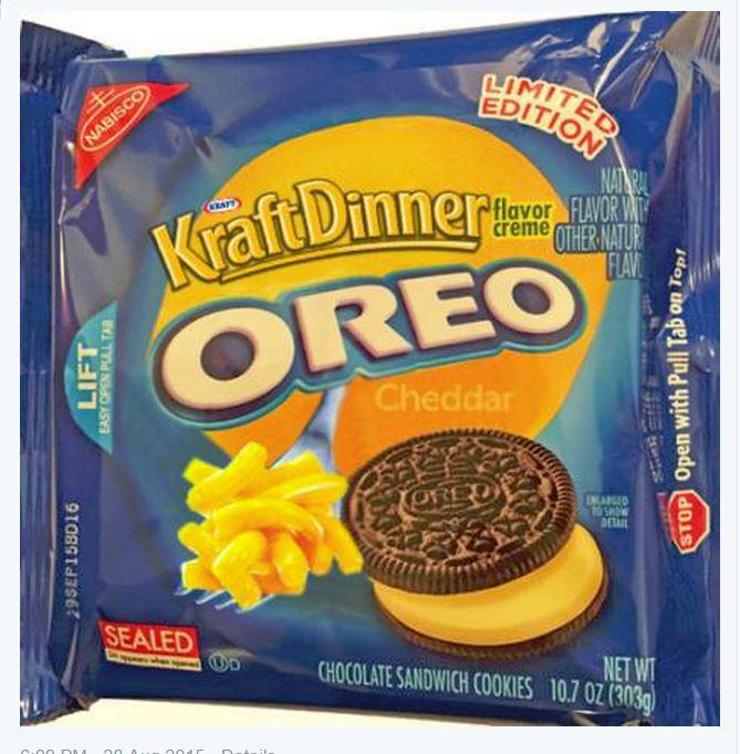 mac n cheese flavor creme oreos the american eater wins