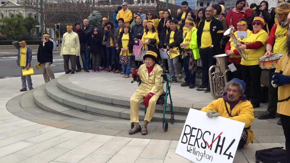 #Bersih4 Wellington has started! http://t.co/CgmlmEGP81
