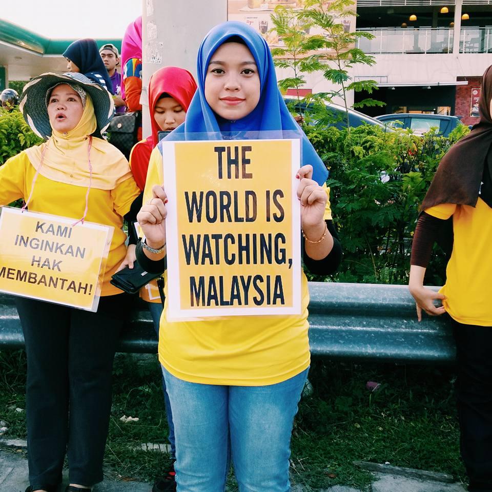 'Illegal' Malaysian Protests Call For PM Najib Razak's