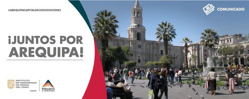 Thumbnail for Comunicado: ¡Juntos por Arequipa!