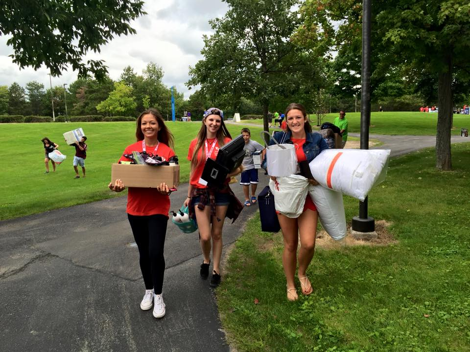 """Mom. Dad. Love you. Bye!"" It's Move-in Day at #UBuffalo! Don't worry. We'll take care of them. @UBStudentExp http://t.co/LdbcVkGz8i"