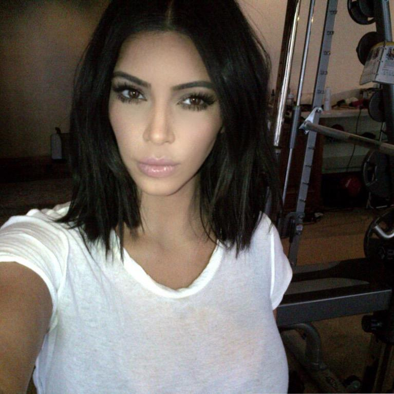 "Kim Kardashian West on Twitter: ""I miss short hair http ..."