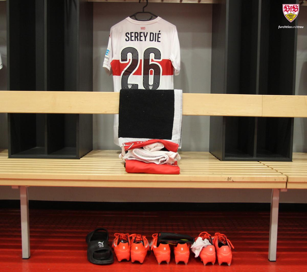 Welcome back, #SereyDié! #VfBSGE #Comeback<br>http://pic.twitter.com/HJkwLkZA7x