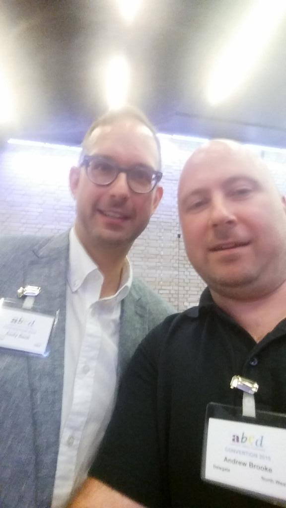 Selfie with #AndyBeck  @abcdtweets<br>http://pic.twitter.com/83UR426QSC