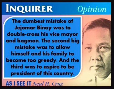 Three mistakes of Binay from the point of view of a columnist. Riding high on INC issues? #DeLimaBringTheTruth http://t.co/FGH2i8u4TM