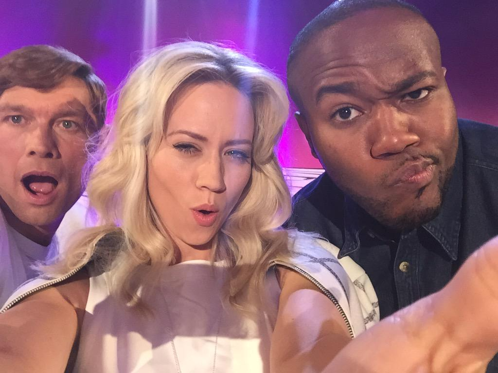 We're at it again! @cbbc #TakingtheNextStep @simeonqsyea @mustbejp #judges #dance http://t.co/YWJHdz0o9I