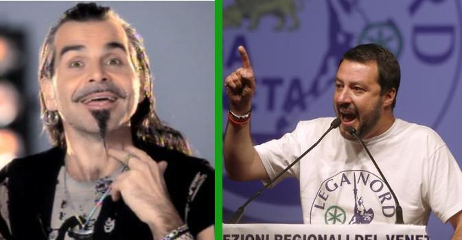Piero Pelù querelato da Matteo Salvini