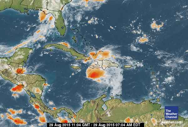 Caribbean Weather Map JPS on Twitter: