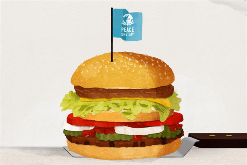 .@BurgerKing offers @McDonalds chance to make 'McWhopper' together http://t.co/1Y3ISioTSF via @Campaignmag http://t.co/V2n5xTwuHB