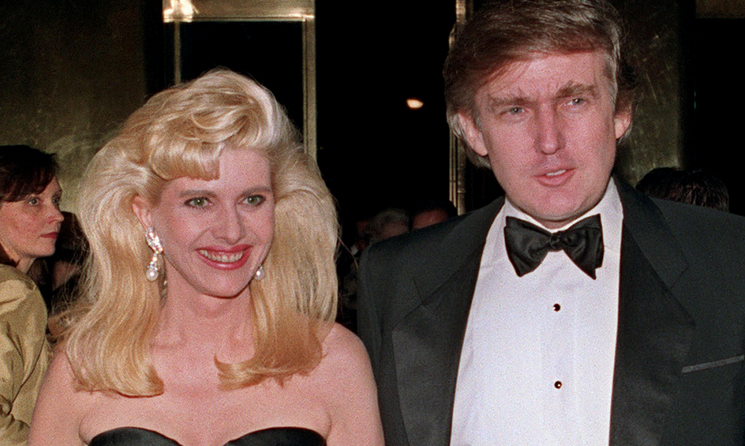 ": ""The gilded marriage—and divorce—of Donald and Ivana Trump ..."