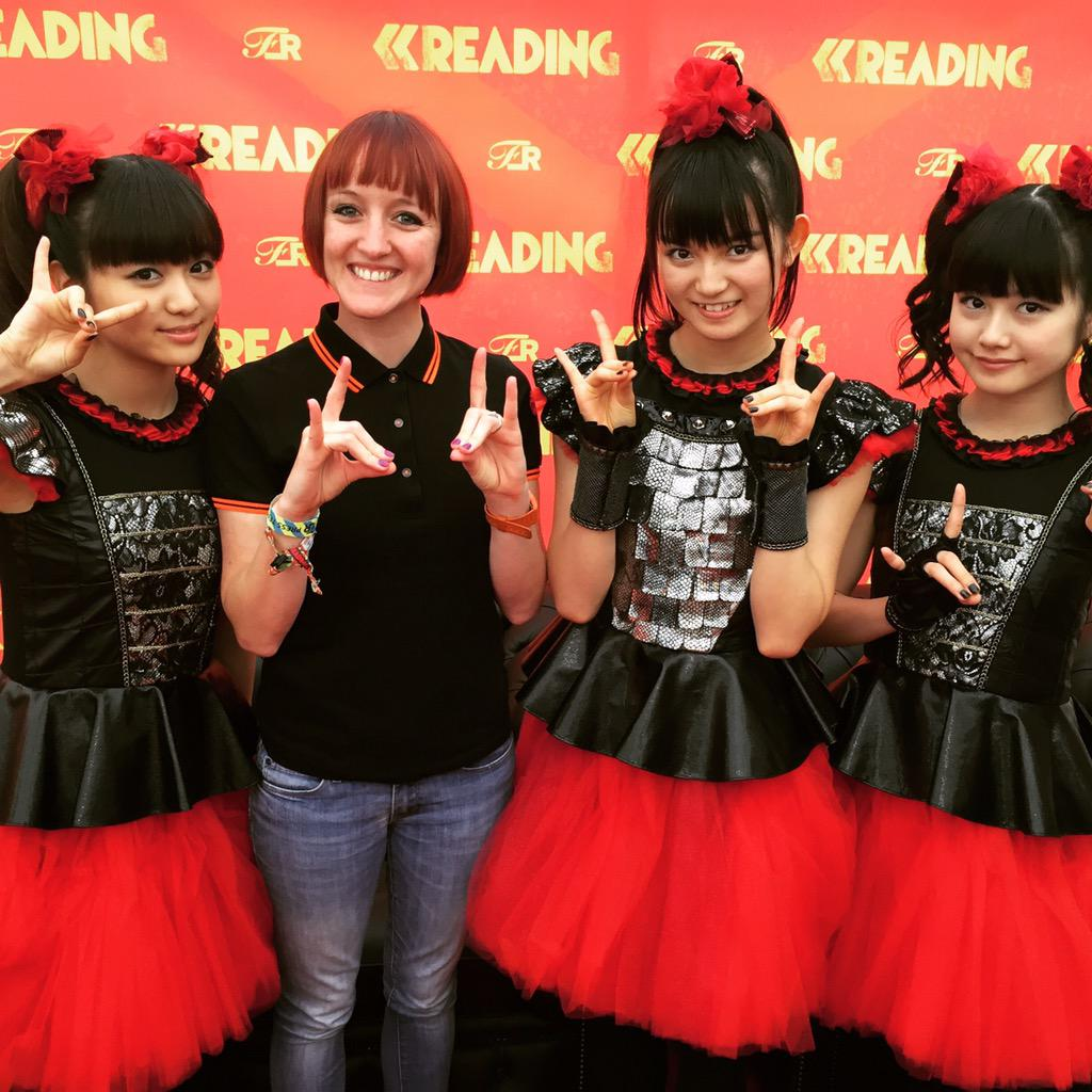 That just happened! Hello #BabyMetal #ReadingFestival #randl15 http://t.co/oYhi6L2XwO