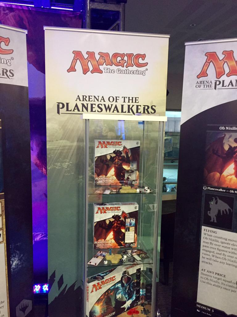 "Hasbro on Twitter: ""Magic:The Gathering Arena of the ... Planeswalker Arena Expansion"