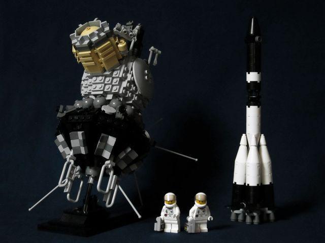 けいけい設計局 LEGO宇宙機の作り方