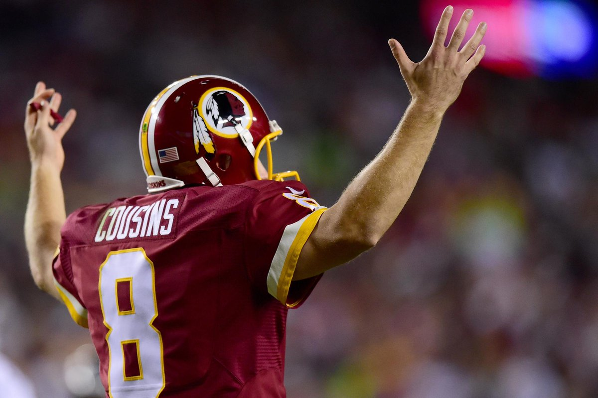 THIS JUST IN: Redskins plan to start Kirk Cousins Week 1 against the Dolphins. (via @diannaESPN)