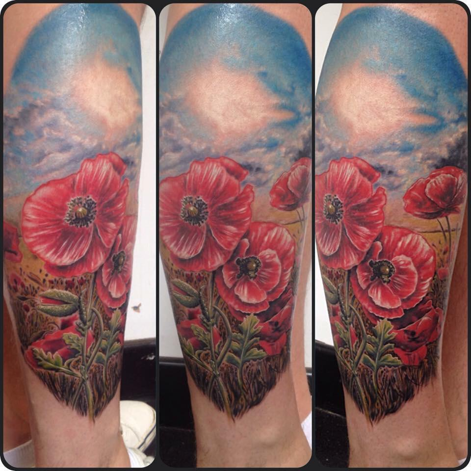 Kevin Totton Tattoo On Twitter Had Fun Doing This Field Of