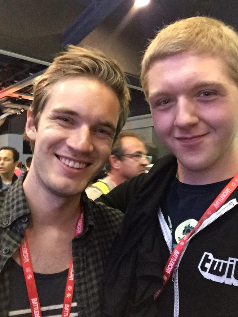 Anklespankin on twitter it was also amazing meeting pewdiepie cnmbz4duwaa9 nrg m4hsunfo Image collections