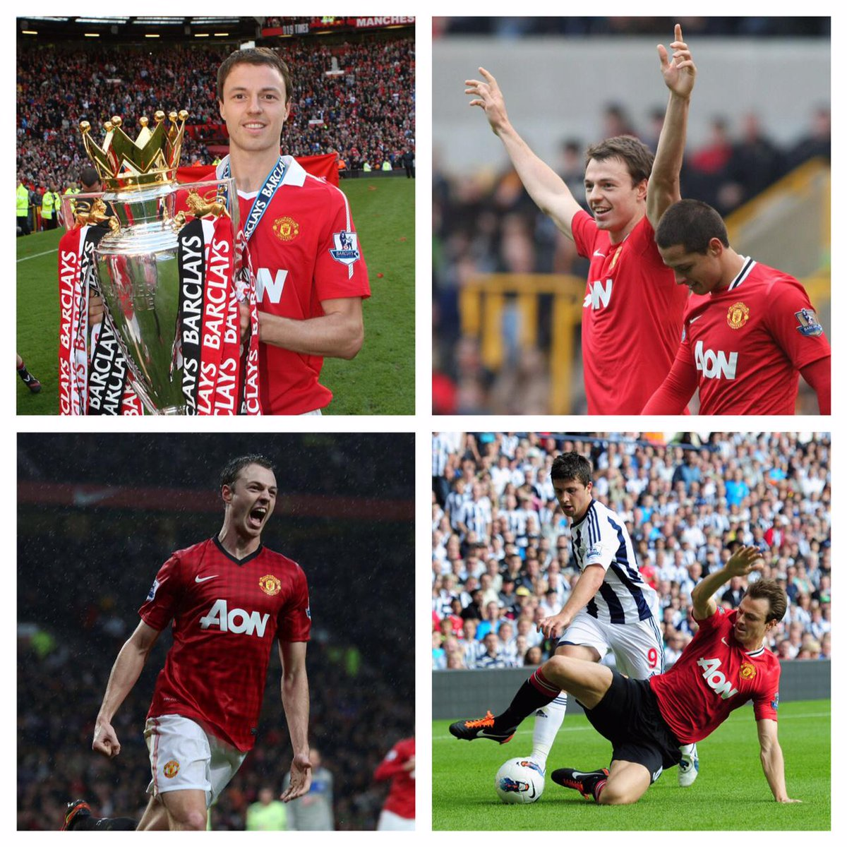 Good luck to Jonny Evans from everyone at #mufc following his permanent move to West Bromwich Albion.