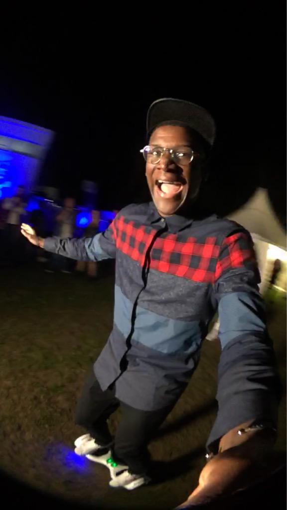 RT @CapitalOfficial: .@Labrinthda1st has just tried riding a Swegway for the 1st time at @FusionFest 😂 Watch on our Snapchat: 'capitalfm' h…