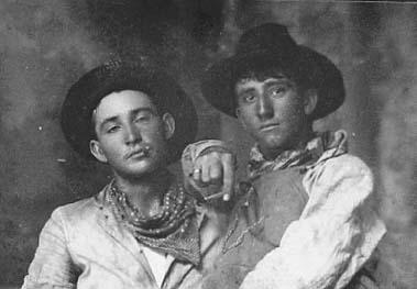 Gay cowboy history