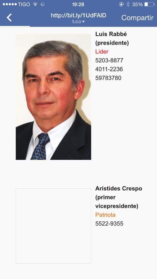 Para los que quieran llamar a Luis Rabbé http://t.co/8ZEKsRPJbC