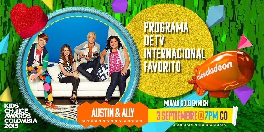 ¡WOW! ¡#AustinYAlly se han llevado todos los blimps este año! :D  ¡FELICIDADES! #KCACOLOMBIA http://t.co/yPOm3NjabX
