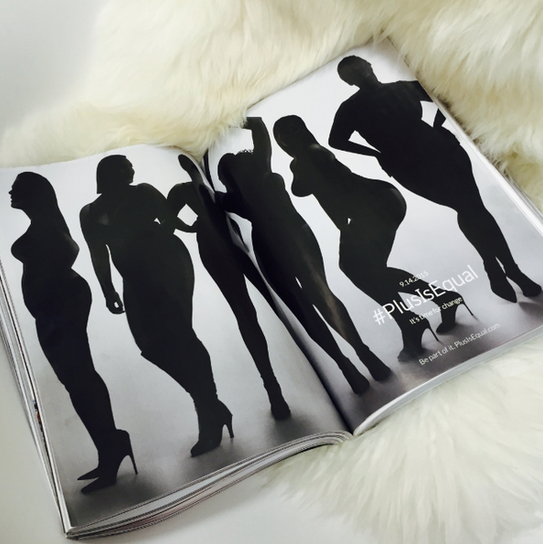 RT @mashable: Only 2 of the 832-page September Vogue issue included plus-size models.  What will it take? http://t.co/rHWWpIk3Fs http://t.c…