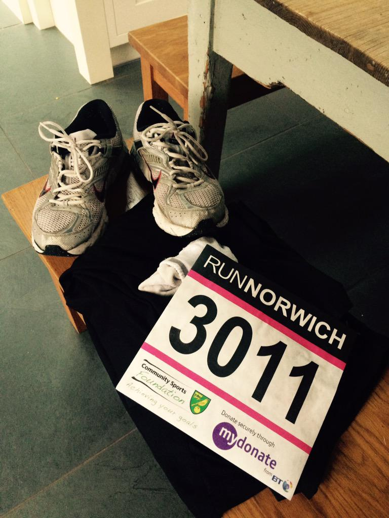 It's here...🏃🏃🏃🏃🏃🏃🏃 @runnorwich #ShowUsYourNumber http://t.co/lgVwB4Hbyj