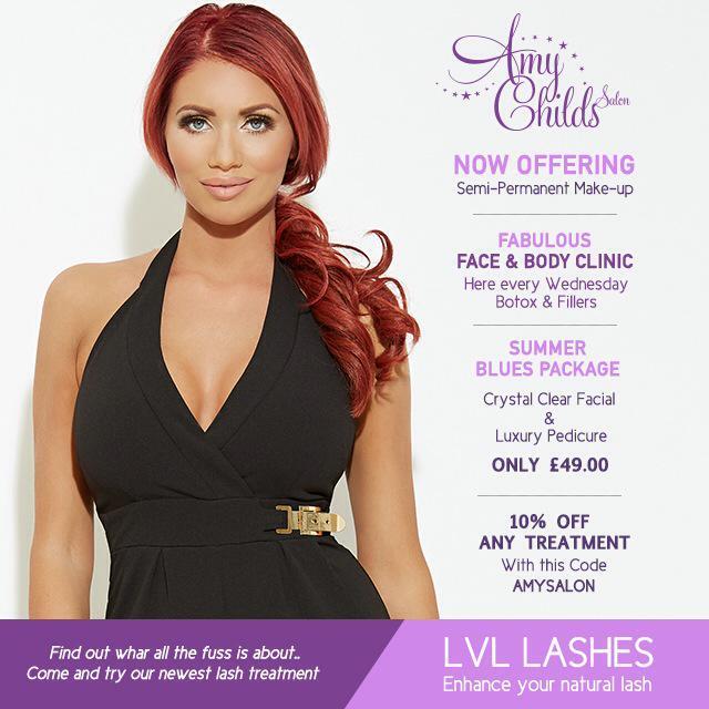 RT @AmyChildsSalon: Some amazing new offers and treatments at @MissAmyChilds salon @AmyC_Boutique @mrsjuliechilds @ClaireAtCan x http://t.c…
