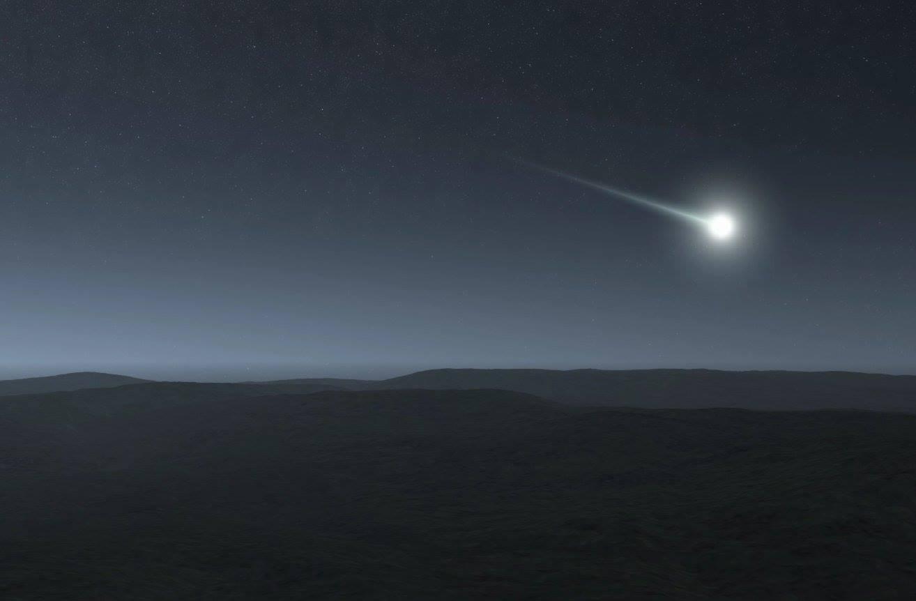 """Cade Meteorite in Spagna: spettacolari immagini video della """"palla di fuoco"""""""