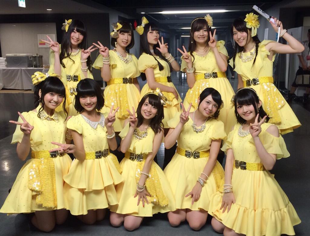 アニサマ初出場てさプルん♪、出番終了しました!おそろいの黄色いヒヨコ衣装で2曲歌わせて頂きました!パシフィコイベントでも着ますよ♪みなさま、ありがとうございました!(ぬこP) #tesabu #anisama pic.twitter.com/T811xg1MdL