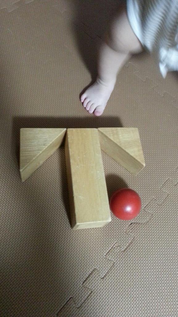 子供に積み木の遊び方を教えてる http://t.co/6JrnHMfZVh