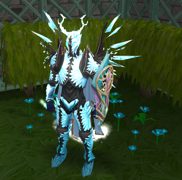 Ice Prison On Twitter New Outfit Done Attuned Crystal Armour