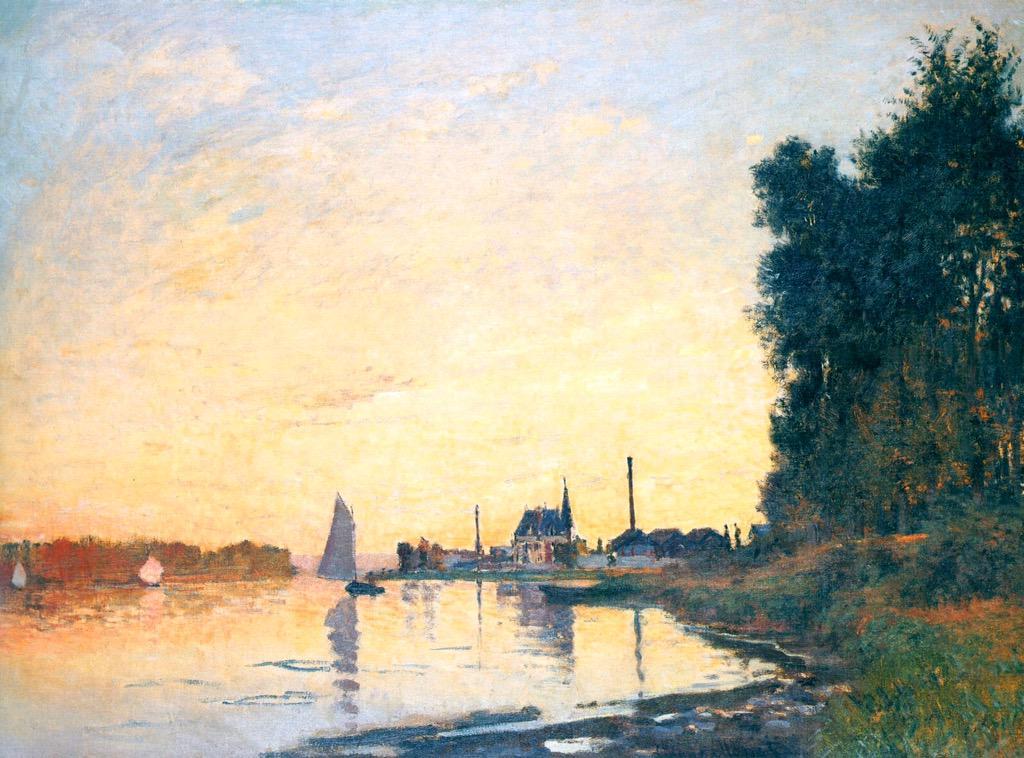 """""""@VicoLudovico: BuonPomeriggio! #Impressionism  Claude #Monet  Argenteuil,Late Afternoon,1872  @Asamsakti http://t.co/GCJo0OUpWB"""""""