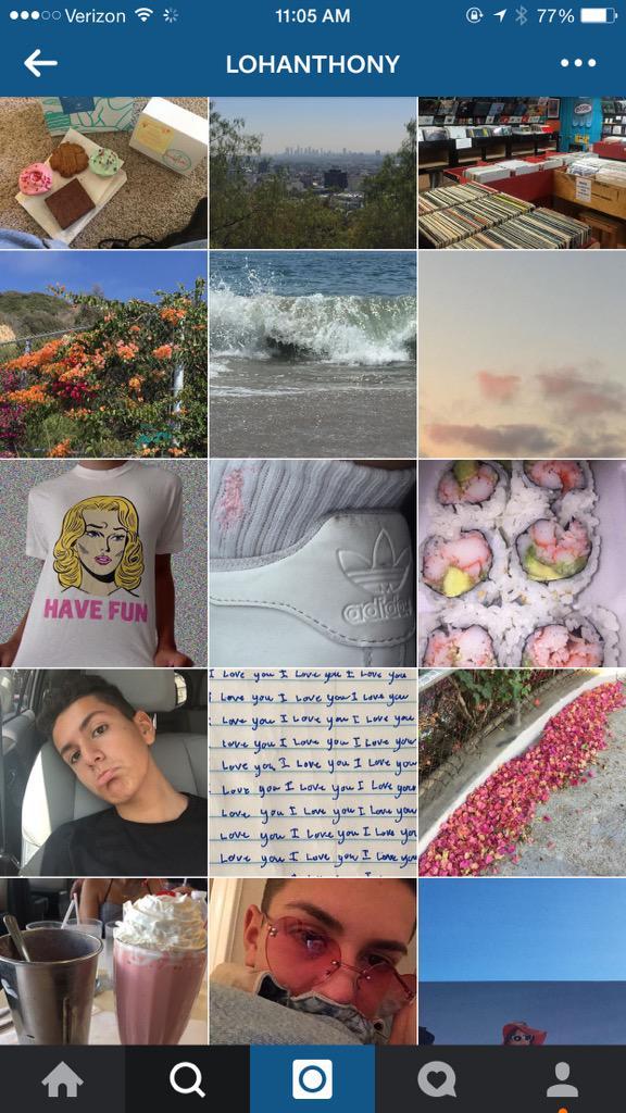 Lohanthony Collage