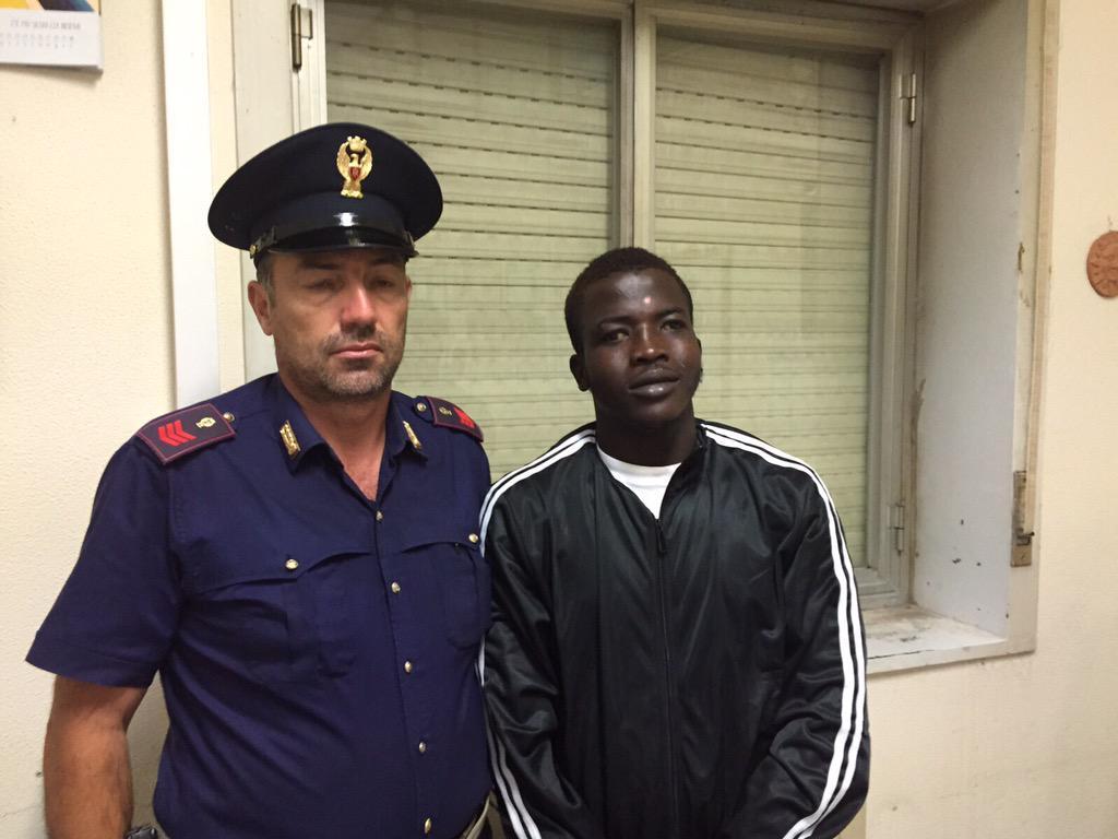 L'ivoriano accusato dell'omicidio dei coniugi di Catania