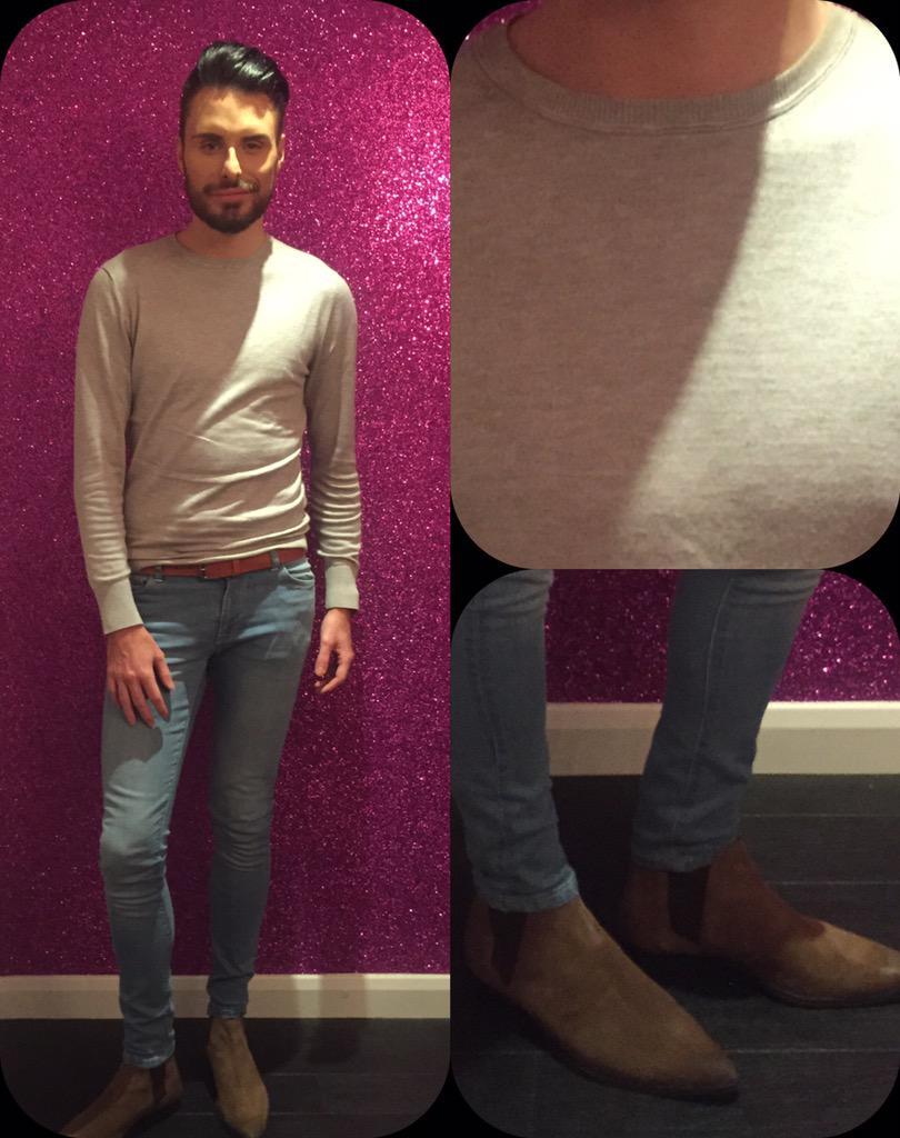 RT @RylanStyle: . @Rylan wears jumper @ZARA belt @Prada jeans @ASOS_Menswear boots @ASOS_Menswear #CBBBOTS http://t.co/NvTDq4cdvt