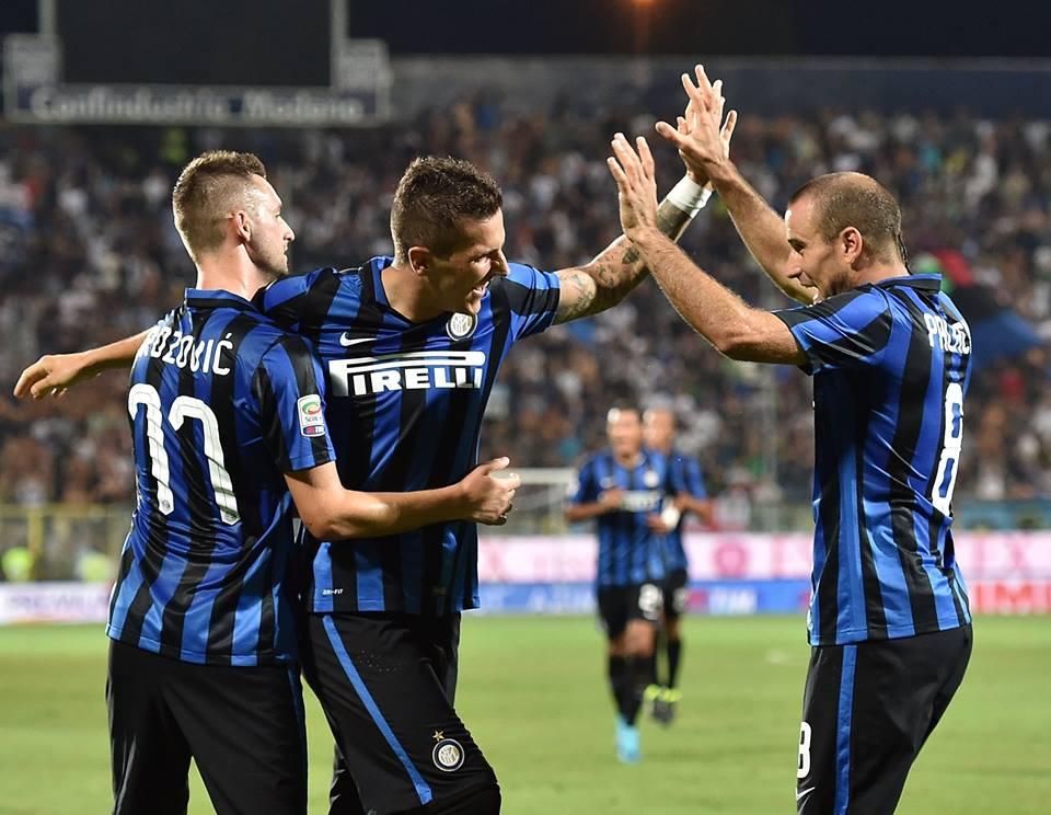 L'inter vince a Carpi all'ultimo minuto.