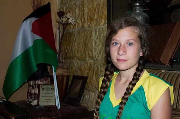 RT @benabyad: Ahed Tamimi, the 14-y-o Palestinian who bit an Israeli soldier to free her brother http://t.co/fY33SQXxXB #NabiSaleh http://t…
