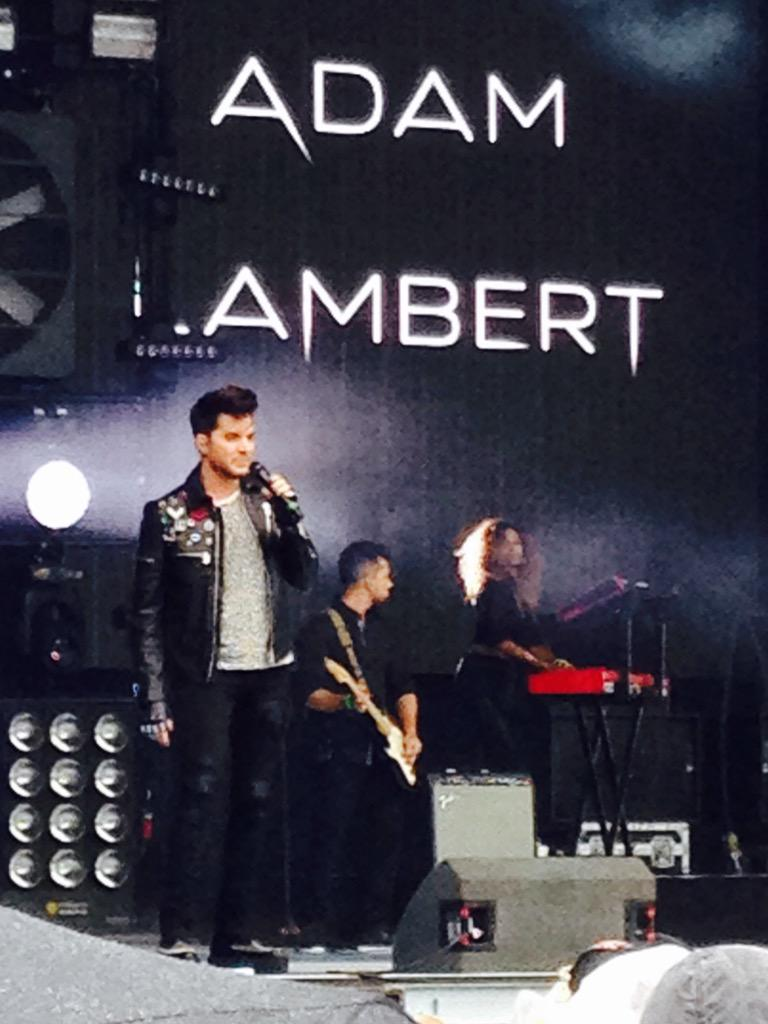 HOW AMAZING WAS @adamlambert at Fusion Fest