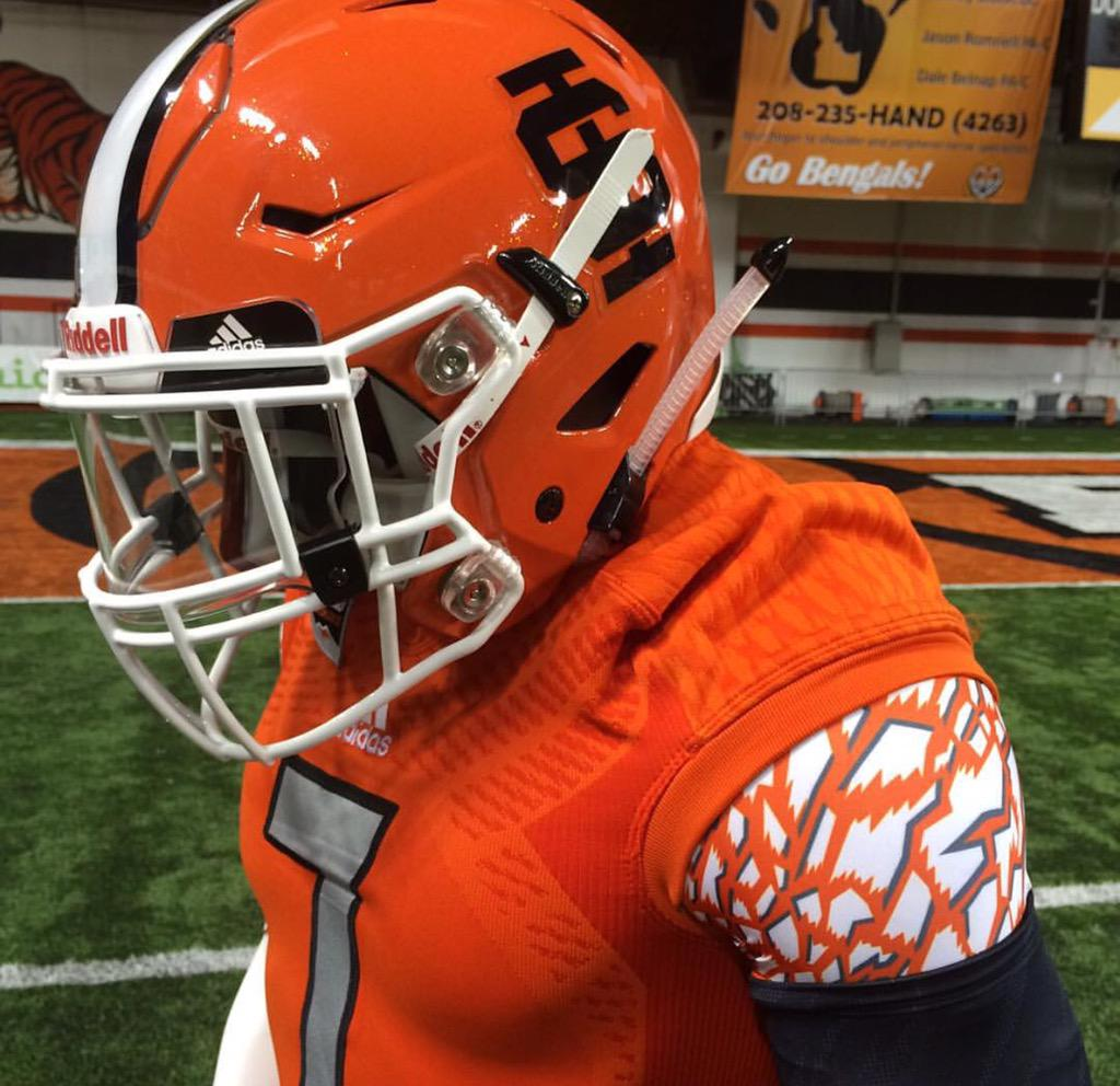 Jason Borba On Twitter Uniwatch Idaho State Unveils New Orange