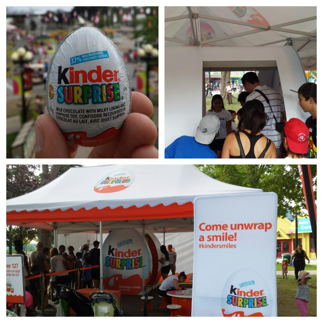 Lots of #kindersmiles at the @KinderCanada photo booth! #CNE2015 #LetsGoToTheEx http://t.co/PZ6kLQPoQW
