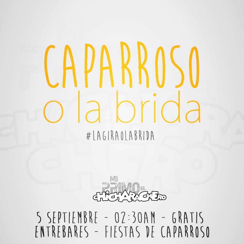 El verano aun no se ha terminado!!! Este sábado nueva ración chicharachera en #Caparroso!!! ¿Quién se apunta?