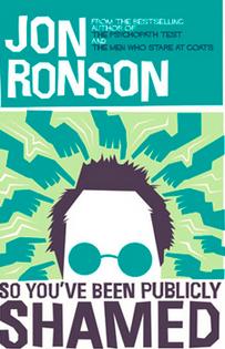 RT @StandardIssueUK: .@EllaEWalker had a read of Jon Ronson's #SoYouveBeenPubliclyShamed. Here's what she thought. http://t.co/MKclvEkT0Q h…