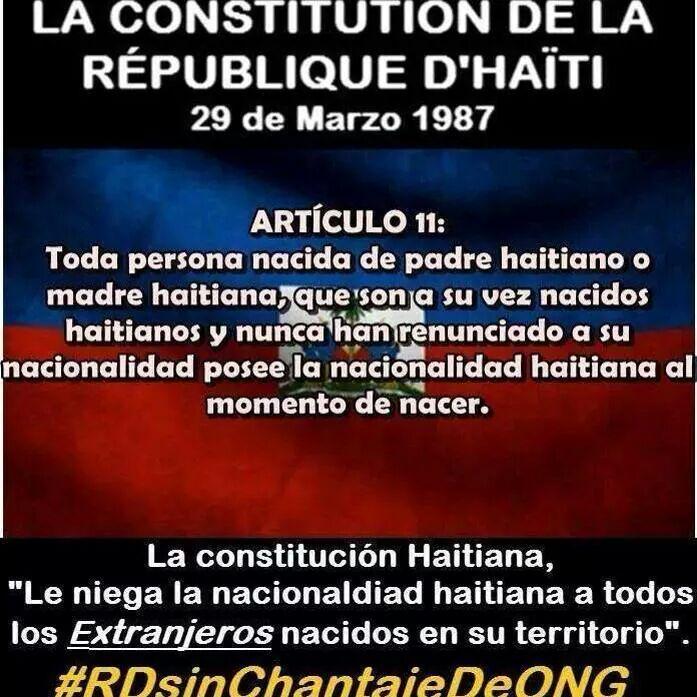 Resultado de imagen para foto de la constitución haitiana