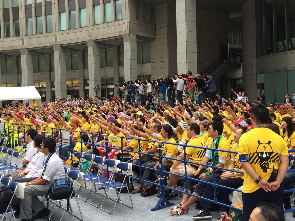 モノノフのみなさま。 「今やろーう!東京防災!」 http://t.co/0q48Gb3obJ