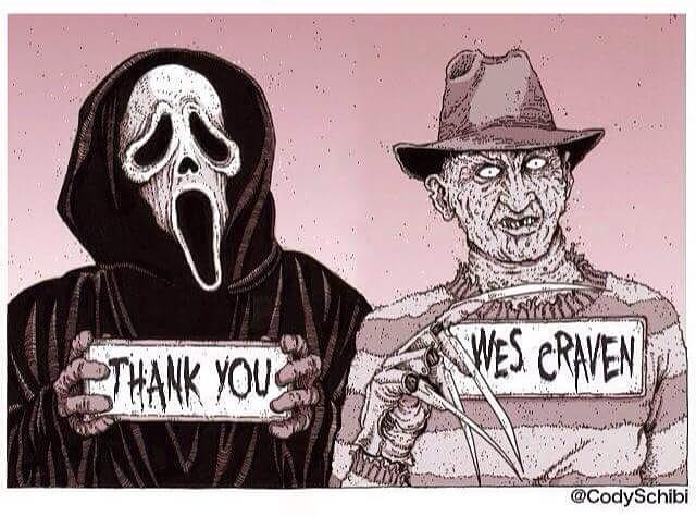Artwork by Cody Schibi #RIPWesCraven http://t.co/tlTiD7pDw9