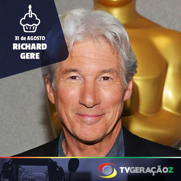 E hoje quem completa mais um ano de vida é o talentosíssimo ator Richard Gere! Parabéns!  #tvgz #webtv http://t.co/6ckiKjxwSx