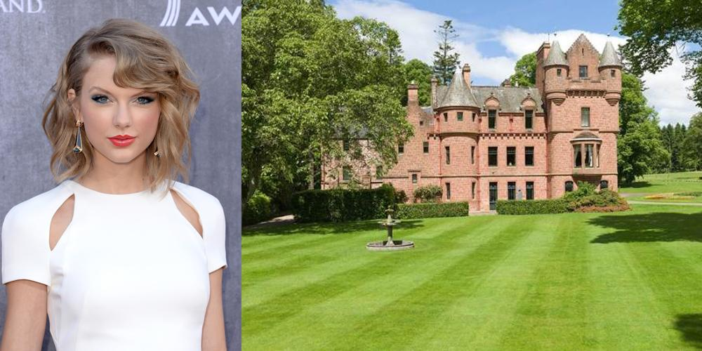 "Taylor Swift cerca casa, ecco il castello ""Tower of Lethendy"""